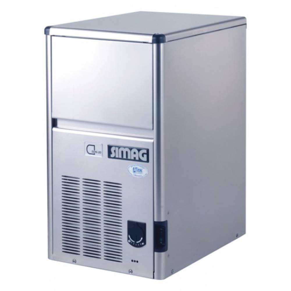 VÝROBNÍK LEDU SDE 18A chlazený vzduchem SDE18A